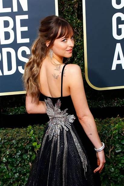 Bangs Layered Dakota Johnson Hairstyles Golden Most