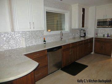 of pearl kitchen backsplash tile white brick groutless pearl shell tile transitional 9790