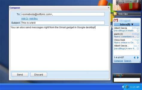 gmail bureau gmail gadget télécharger
