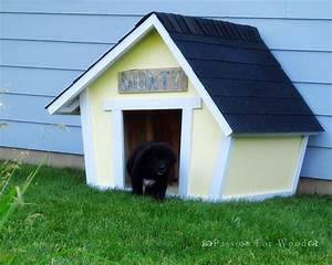 13 free dog house plans anyone can build for Cost to build a dog house