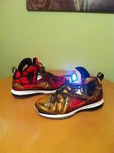 Lebron x Iron Man - by Kickasso | Shoes on Shoes on Shoes ...