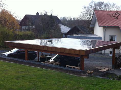 Carport Schueco Solar Hülscheid (2012) Bedachungen