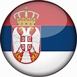 Serbia flag icon - country flags