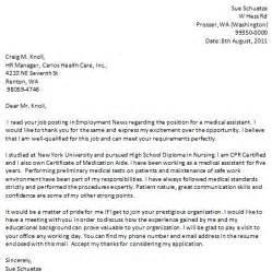 nursing aide resume cover letter sle assistant cover letter a brief description with exle certified nursing