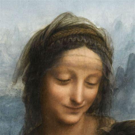 Enfantsetart@blogspotcom La Sainte Anne Au Louvre, L