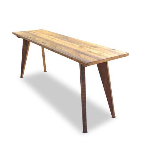 kitchen table as island modern mid century high bench table desk kitchen island 6212