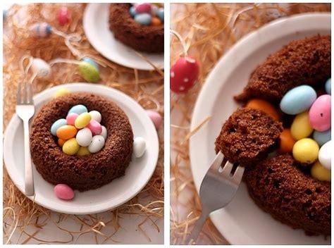dessert nid de paques nid de paques individuels au chocolat au riz souffl 233 recette