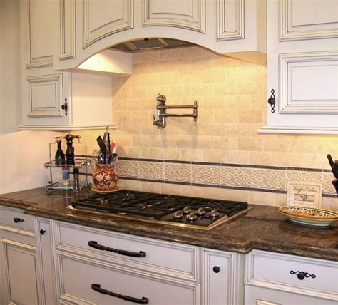 traditional kitchen backsplash ideas backsplash detail