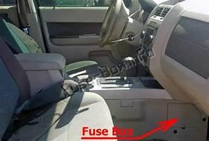Fuse Box Diagram  U0026gt  Ford Escape  2008