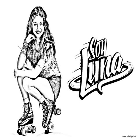 Soy Luna Free Colouring Pages