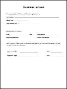 furniture ontario oregon free boat trailer bill of sale form pdf