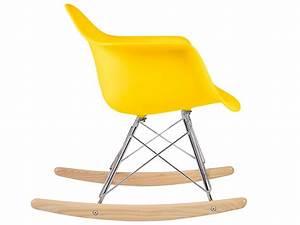Eames Chair Schaukelstuhl : kinder eames schaukelstuhl rar gelb ~ Michelbontemps.com Haus und Dekorationen