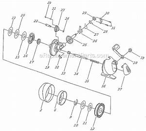 Shakespeare Lfsc10 Parts List And Diagram