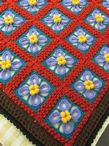 Crochet Afghan Patterns On Pinterest
