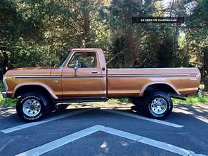 Ford 4x4 Ranger : 1972 ford truck interior 1976 ford f250 xlt ranger longbed highboy 4x4 1977 1978 1979 1975 ~ Medecine-chirurgie-esthetiques.com Avis de Voitures