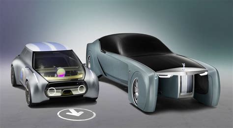 bmw minivan concept bmw mini and rolls royce present vision next 100 concepts