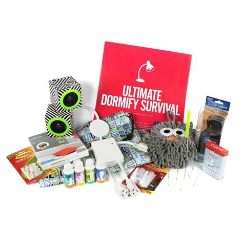 The Ultimate Dorm Survival Kit  Oh How I Love School