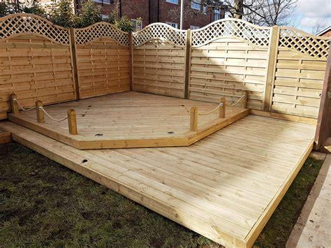 european garden omega lattice top fence panels ormskirk lancashire abel landscaping