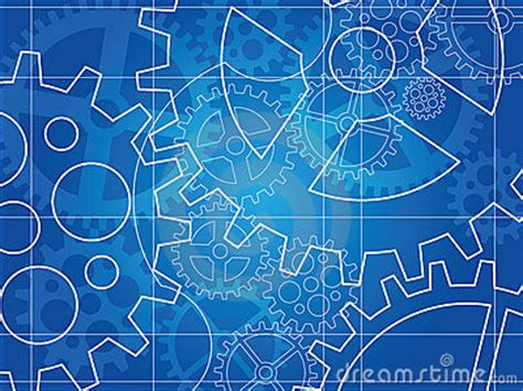 gear blueprint abstract design stock photography image