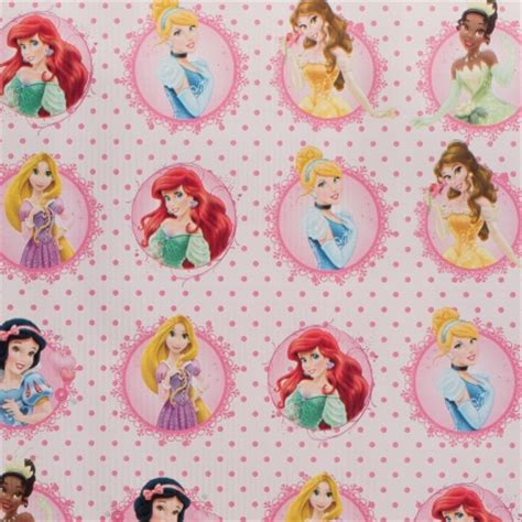 character wrapping paper  metres disney princesses