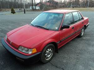 1990 Honda Civic Dx- 5 Speed For Sale