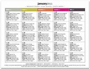 free school lunch menu templates - high school cafeteria menu template cafeteria menus