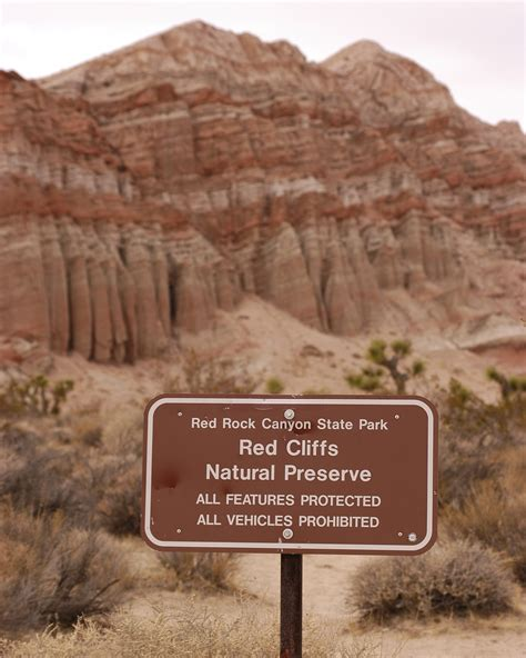 Red Rock Canyon State Park California