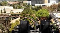 Riding The Demon - Great America Theme Park, Santa Clara ...