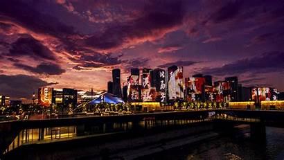 Hangzhou Qianjiang Night Town Nightlife Travel