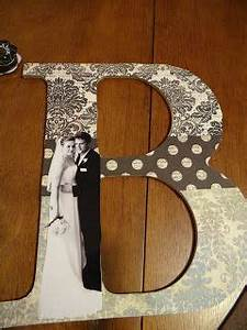Mod Podge Letter How To great wedding anniversary