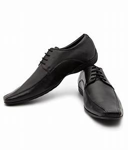 Carlton London Black Formal Shoes Price in India- Buy ...