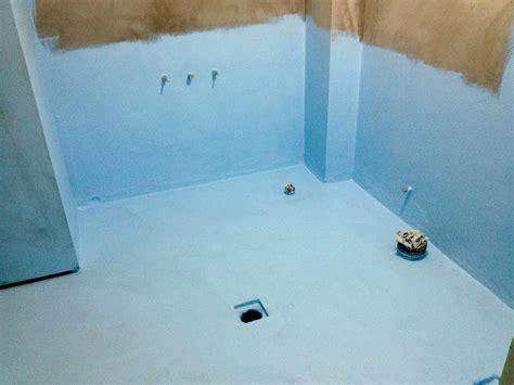 fresh bathroom waterproofing around pipes 21425