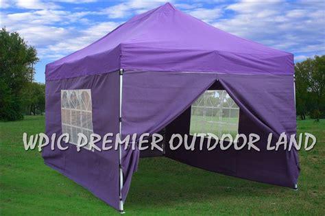 purple pop  canopy party tent ez  sizes  xx   ebay