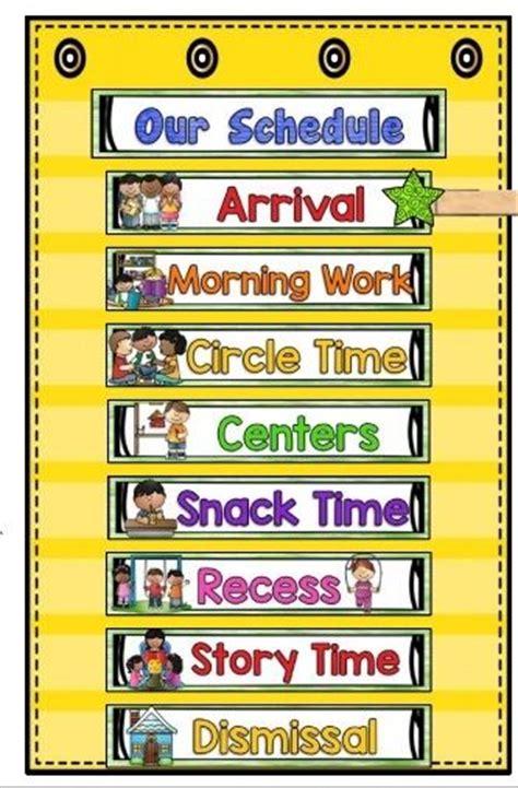 25 best ideas about visual schedule preschool on 711 | fa3658c663f5084f8fa062ae3406a70b