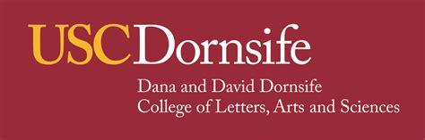 usc dornsife graphic identity program usc dana  david dornsife college  letters arts