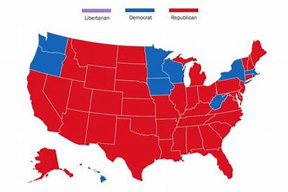 Map Election Every America 1824 Voted Since