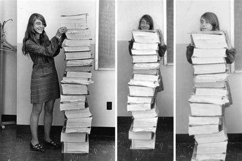Apollo code developer Margaret Hamilton receives ...