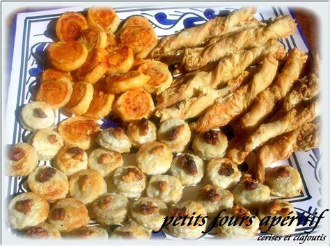 petits fours aperitif variations autour d une p 226 te cerises et clafoutis