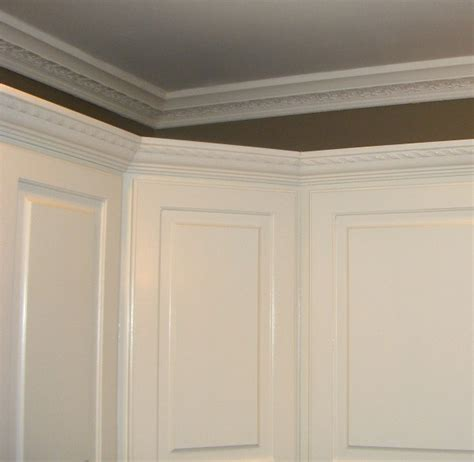 cabinet angled mold crown molding kitchen cabinets