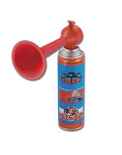 Boat Horn One Long Two Short by Manual Mouth Operated Fog Horn Produces A Loud Blast Of Sound