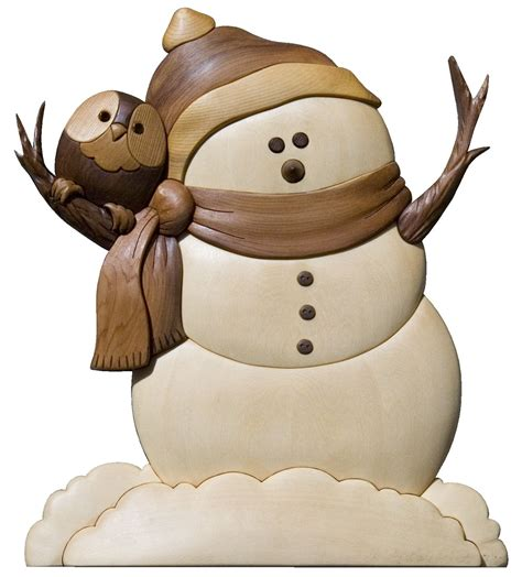 image detail  click     intarsia snowman