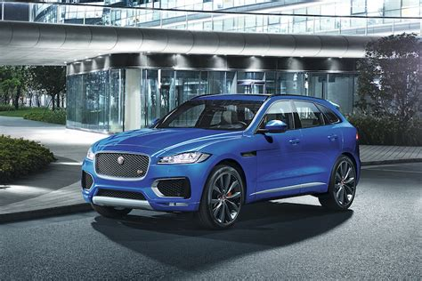 The Fast And The Functional Jaguar Fpace Will Get 550hp