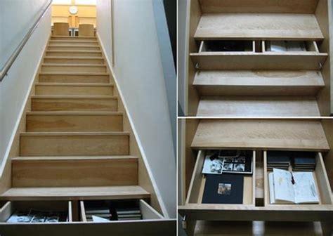 un escalier original pour optimiser votre rangement