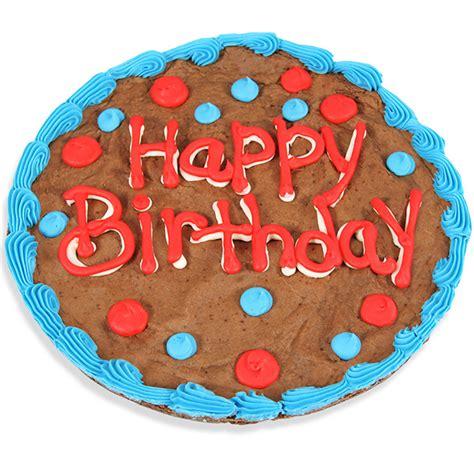 Happy Birthday Brownie Cake By Gourmetgiftbasketscom