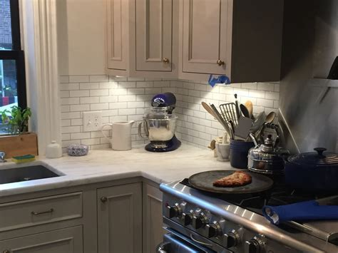 Kitchen Backsplash Behind A Stove  Clever Mosaics
