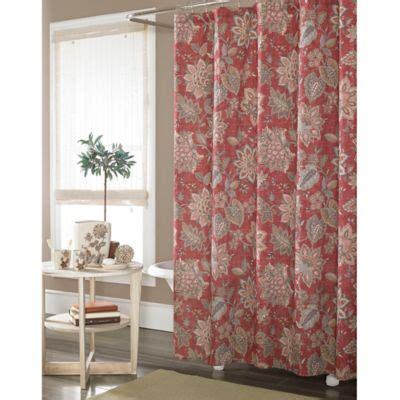 J Luxembourg Curtains by Buy J New York Luxembourg Fabric Shower Curtain