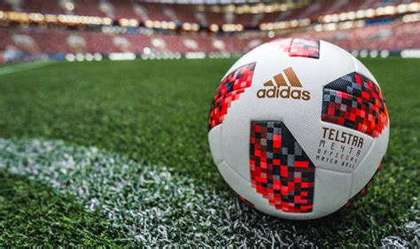 world cup ball   fifa changed  red telstar