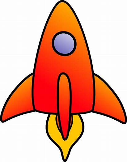 Rocket Cartoon Clipart Rockets Roket Vertical Clip
