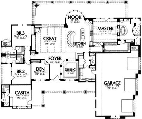 plan wmd southwest corner lot house plans home designs images mediterranean