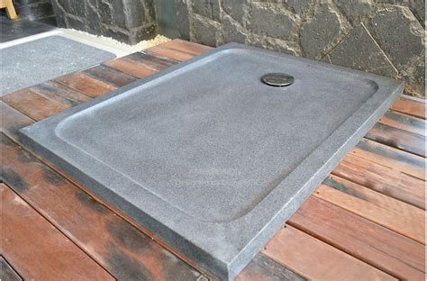 home vanity tops with 1000x800 grey granite stone shower tray mercurion